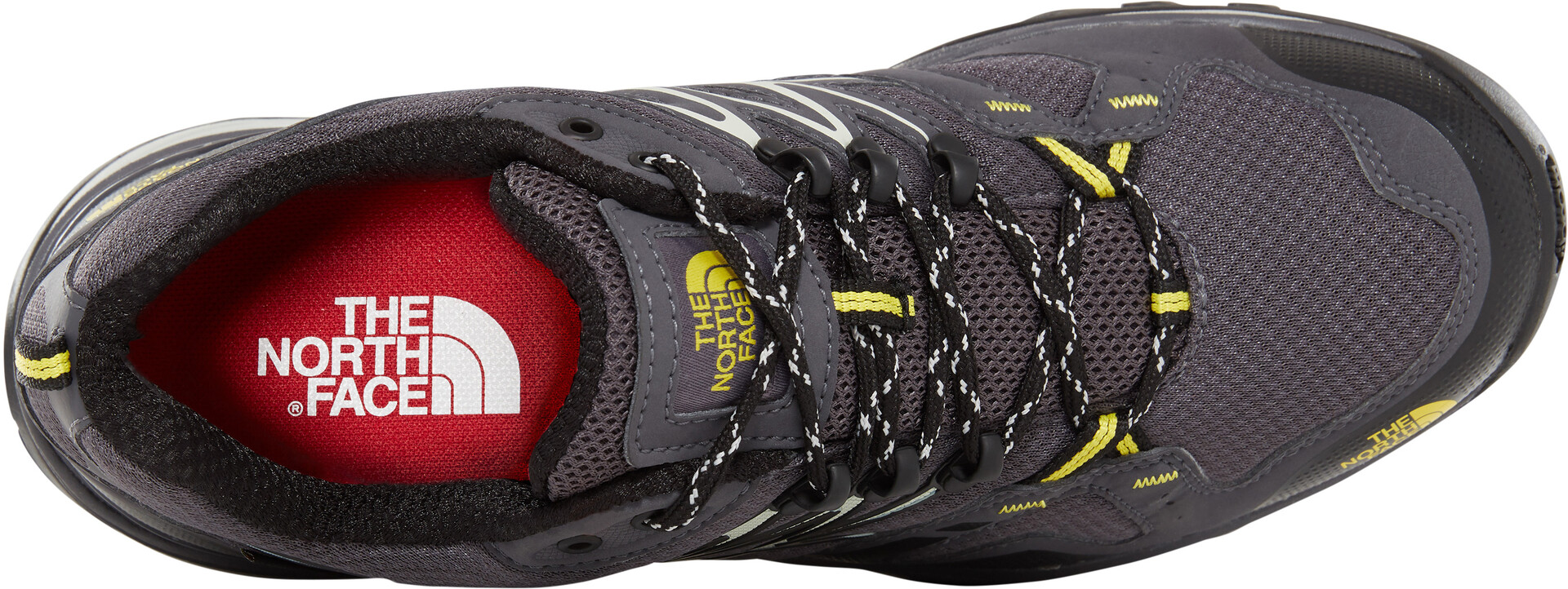 The North Face Hedgehog Fastpack GTX Shoes Men blackened pearlacid yellow